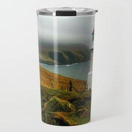 Mykines Lighthouse Travel Mug