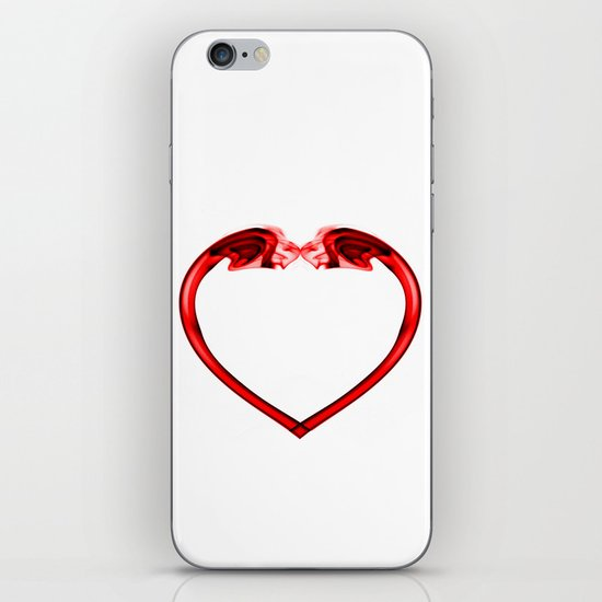 Love Smoke Red 2 iPhone & iPod Skin