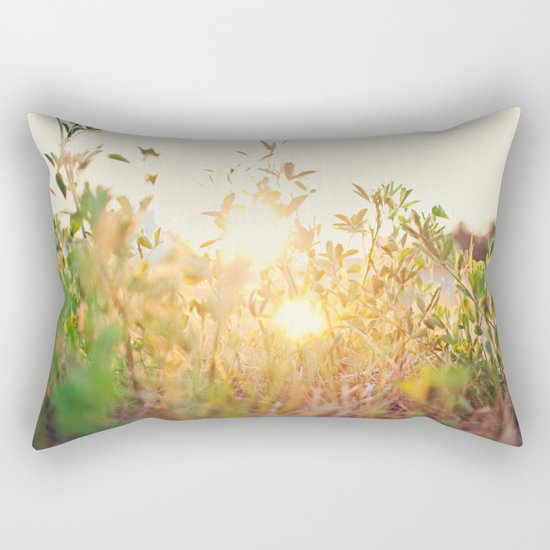 Sun Rising Rectangular Pillow