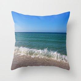 Siesta Shoreline Throw Pillow