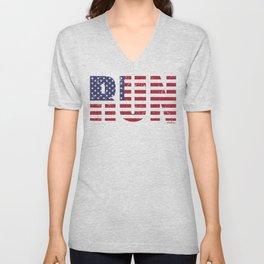RUN USA Unisex V-Neck