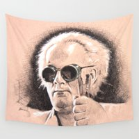 brown Wall Tapestries featuring Brown by chadizms