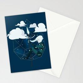 Nightlight Circlet Stationery Cards