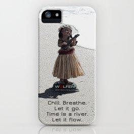 Wolfen Hula Babe iPhone Case