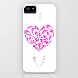 Feather Valentine iPhone Case