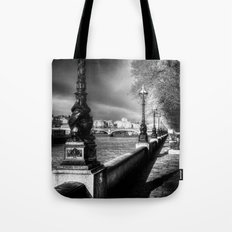 Storm Over London Tote Bag