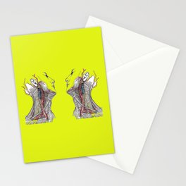 Dual anatomy Stationery Cards