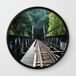 Patapsco Bridge Wall Clock