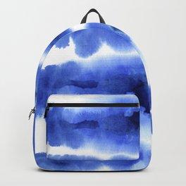 Indigo Watercolor Pattern 13 Backpack