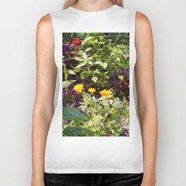 Floral Print 004 Biker Tank
