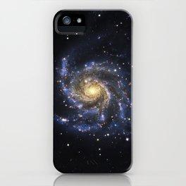 Spiral Galaxy M101 iPhone Case