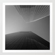 looking upwards - New York City Art Print
