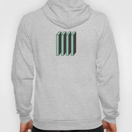 Mint and Chocolate Bricks Hoody