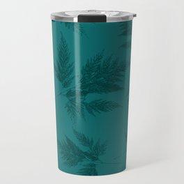 Fern blue Travel Mug