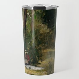 Tom Roberts - A Sunday Afternoon - Australian Oil Painting Travel Mug