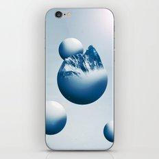 Ice Mountain Planet iPhone & iPod Skin