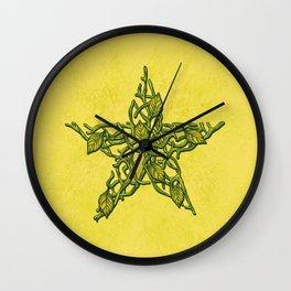 Growing Star Wall Clock