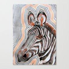 zeberahhhh! Canvas Print