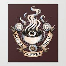 The Coffee Trinity Canvas Print
