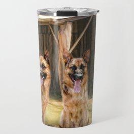 German Shepherds Travel Mug