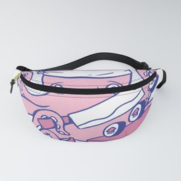 Octopus Sushi Chef Fanny Pack