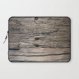 Old wood Laptop Sleeve