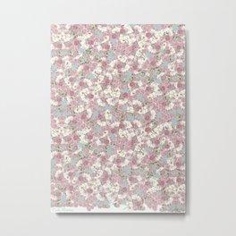Rosas Metal Print