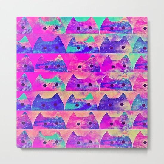 cats-338 Metal Print