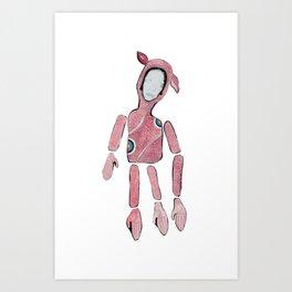 Octo Lamb Art Print