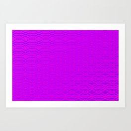 0108 Patternwall  3 Art Print