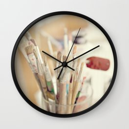for Artworkers Wall Clock