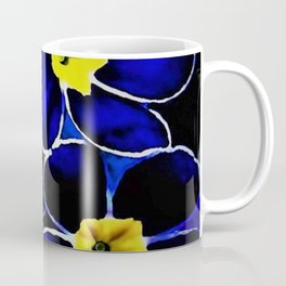 'Blue Evening Primrose on the Pawtuxet' portrait still life Coffee Mug