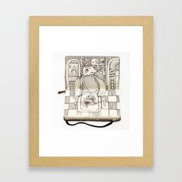 The Last Supper (Fish) Framed Art Print