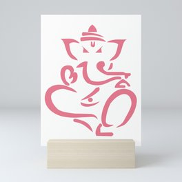 Ganapati Ganesh God Success Mini Art Print