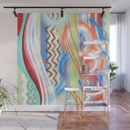 Cheerful Abstract Wall Mural