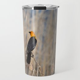 Yellow Headed Blackbird Travel Mug