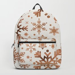 Snowflake Collection – Rose Gold Palette Backpack