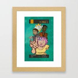 Ghostrockets Main Crew Framed Art Print