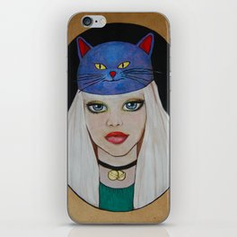 Miaw Girl iPhone Skin