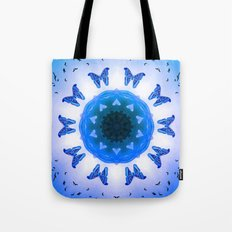All things with wings (blue) Tote Bag