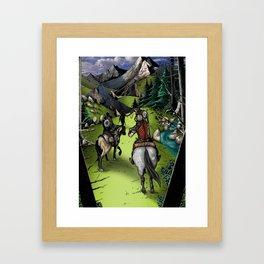 The Journey's Start Framed Art Print