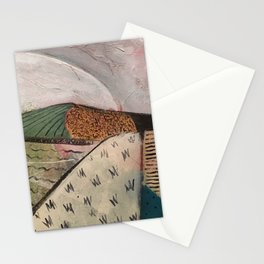 white sun Stationery Cards