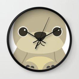 Cute Teddy Bear Wall Clock
