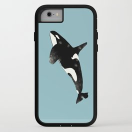 Killer whale art iPhone Case