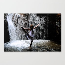 Dancer In The Dark Canvas Print