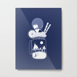 Whipped Cream Day Metal Print