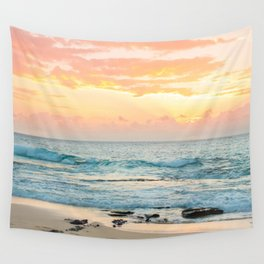 Honolulu Snrse Wall Tapestry