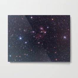 Reflection Nebula Metal Print