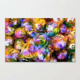 colorful balls Canvas Print