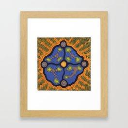 ORGANIC FORM Framed Art Print
